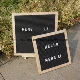 Дюймы доски 10X10 письма войлока с знаками пем стойки переменчивыми
