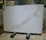 Brames/tuiles de marbre blanches de Calacatta de matériau de construction avec des veines