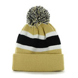 Cute Multicolor Custom Strip Pattern Knitted winter Beanie has
