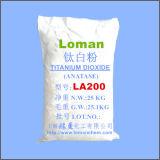 중국 공장, 높은 순수성 백색 힘 TiO2 안료 공장에서 Anatase 이산화티탄 La200 공급
