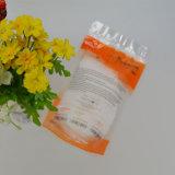 측이 알루미늄을 밀봉한 3개는 음식 급료 비닐 봉투를 위로 서 있다
