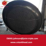 02-17 testa della parte inferiore piana del acciaio al carbonio per il contenitore a pressione 7000mm*15mm