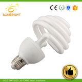 15W/26W U espiral Lámparas de ahorro de energía, ahorro de energía de xenón, Bombilla de CFL