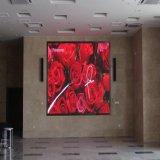 Indoor P2.5mm/ P3mm/ P4mm/ P5mm /P6mm /P7.62mm pleine couleur Panneau affichage LED à montage mural