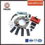 Angosto tubo neumático Diseño biselado y máquina de corte