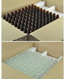 la bottiglia vuota di vetro libera trasparente del Brown della bottiglia di oli essenziali di vetro 5ml/l'estetica acido ialuronico imbottiglia 1*80PCS