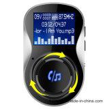A2DP de manos libres coche Bluetooth el transmisor de FM BC26 Kit para coche Bluetooth Reproductor de MP3 transmisor de FM