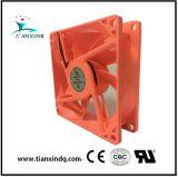 80*25mm 5V -24V Estrutura de refrigeração sem escovas DC ventilador axial do Ventilador