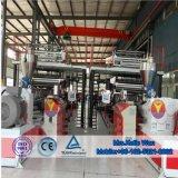 Vinyle spc Stone tuile de revêtement de sol composite en plastique de décisions de la machine d'Extrusion