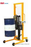 400kg容量のウェイティングのスケールのAvaiable油圧持ち上がるオイルドラム運送者Dt400A-1
