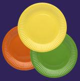 Пользовательские цвета Mulit-Color акции оптовые продажи круглой пластины бумаги одноразовые