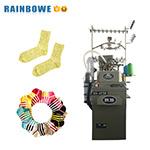 3.75 inch RB-cilinder Terry en Plain Sock Machine om katoenen sokken te maken