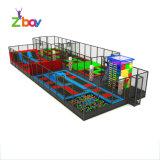A Fábrica Nova chegada interior macio trampolim com parque de diversões