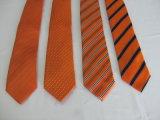 Design de cor dourada micro fibra moda masculina Neckwear