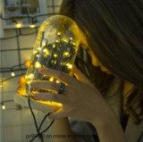 Indicatore luminoso solare della stringa di singolo colore LED di festa