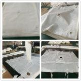 El poliéster y fibra de polipropileno bolsa de filtro de líquido