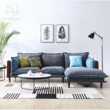 ベストセラーの居間の家具ファブリックソファー