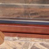 Triplice-Pista di alluminio resistente di lusso del blocco per grafici che fa scorrere il portello del Doppio-Vetro con lo schermo della mosca