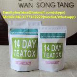 14 - de Magere Detox Thee van de dag Am en P.m. Teatox met de Privé Dienst Am van het Etiket en P.m. Teatox met de Privé Dienst van het Etiket