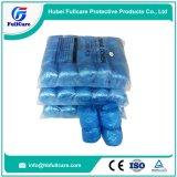 使い捨て可能なPE CPEの反スリップの防水靴カバー
