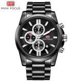 Mini Focus barata Logotipo personalizado reloj de pulsera de cuarzo para hombres