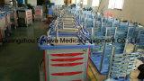 病院のABSプラスチック麻酔の緊急の医学のトロリーカートの価格