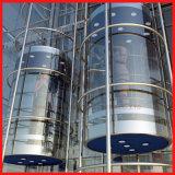 Sicherheits-panoramisches Hochgeschwindigkeitswohnhöhenruder-Glasaufzug-Beobachtungs-Höhenruder