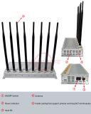 Emittente di disturbo GSM/3G2100MHz/4glte/Wi-Fi/Bluetooth, stampo del telefono mobile dell'emittente di disturbo della stanza per il telefono cellulare del cellulare