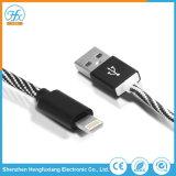 5V/2.1A電光USBデータ充満ケーブルの携帯電話のアクセサリ