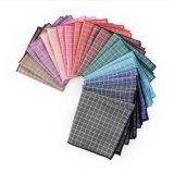 Мужские качества Проверить карман квадратных Handkerchief постельное белье с нетерпением хлопка