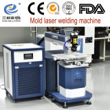 máquina de soldar a laser de alta precisão com microscópio