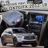 GPS van Lsailt de Androïde Doos van de Navigatie voor Infiniti Qx70/Fx 2012-2018 met Waze Yandex Facultatieve Carplay