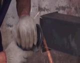 転倒ベルトの小さいバレルのドラムショットブラスト機械