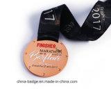Le sport en métal de gros de l'exécution &R Race médaillon concurrentiel