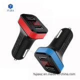 2018 Se centra de promoción de la fábrica Dual USB Cargador de coche nueva salida de 12V Cargador de teléfono Mini Coche