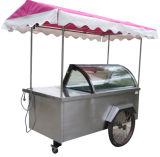 販売のための6 -10皿の氷のPopscile押しのカート