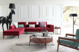 居間のための部門別のソファーの一定の角のソファー