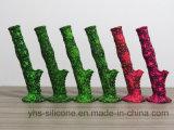 La mejor fumar pipa de agua del tubo de silicona con Graffiti Impresión con distribución Factory
