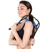 Tejido profundo punto de activación de doble cuello Masajeador de hombros para alivio de dolores musculares