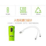 Batterie 1000mAh della batteria ricaricabile del USB 1.2V aa
