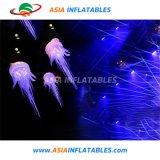 Гигантские надувные медузообразных баллон со светодиодной лампы в ночное время