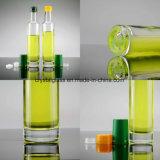 Molho de soja e vinagre garrafa de vidro com tampa