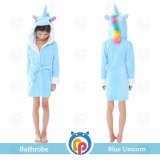 Cartoon Unicorn Four Seasons Albornoz para niños