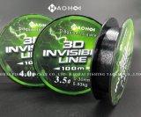 riga di pesca invisibile 3D riga del punto di 100m
