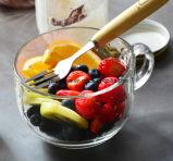 480ml Le petit déjeuner tasse en verre de grande taille