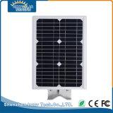 Resistente al agua IP65 8W en una sola luz de calle solar integrada al aire libre
