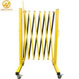 A Barreira de Segurança Móvel / Amarelo barreira em expansão de alumínio / Portable Barreira de tráfego