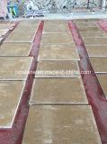 外の壁のクラッディングのための安く黄色いベージュ石灰岩のタイル
