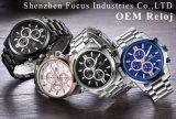 Horloge van het Kwarts Staal van het bedrijfs van de Sport het Volledige Waterdichte voor Mensen
