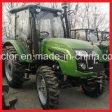 80HP de Tractor van het landbouwbedrijf, Landbouwtrekker Op wielen (FM804T)